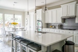 Installing New Marble Kitchen Counters